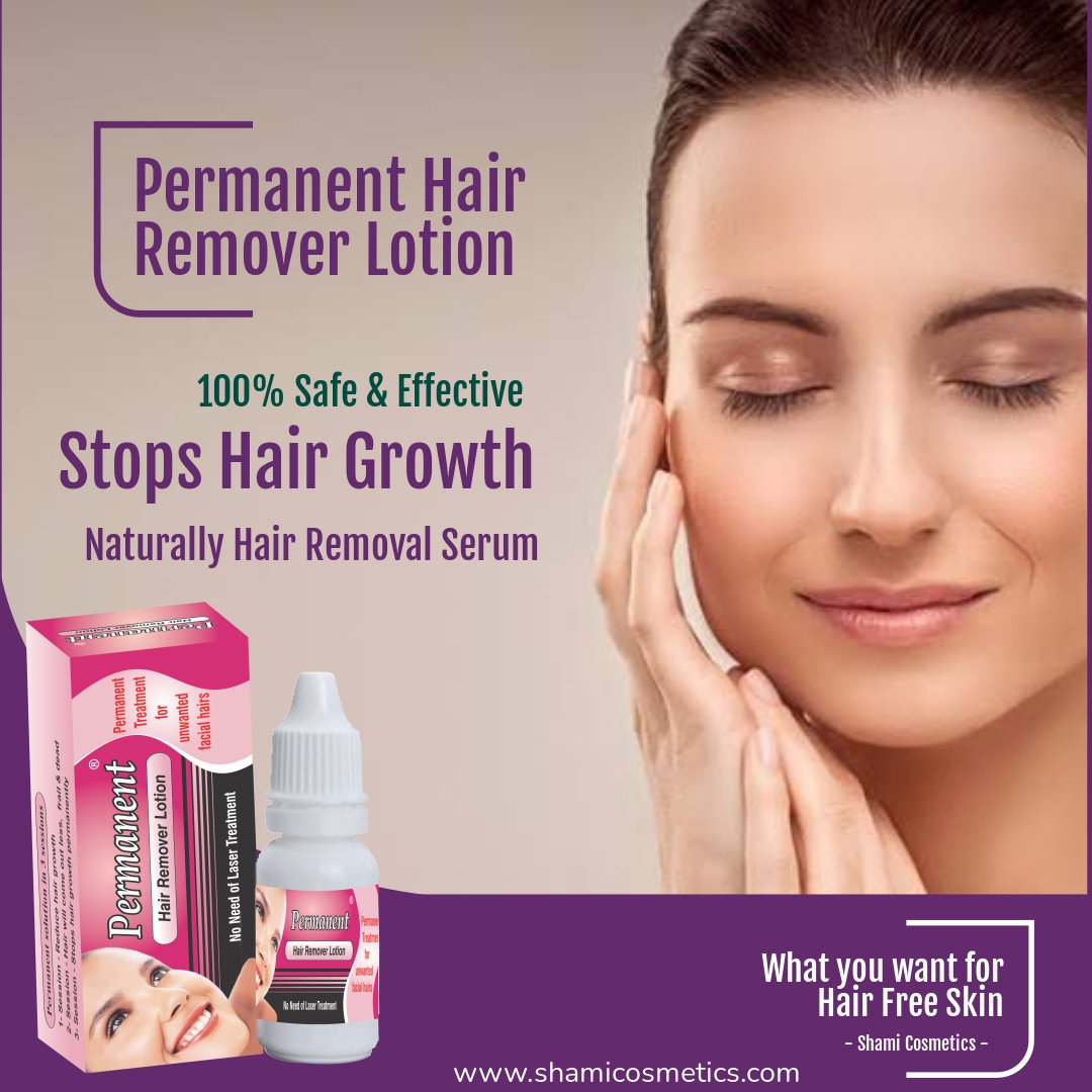 Permanent Hair Remover Lotion 1