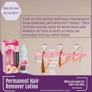 Permanent Hair Removal Lotion