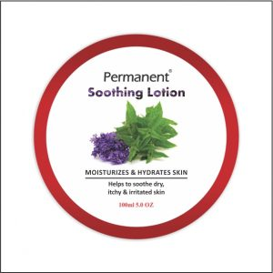 permanent Soothing Lotion